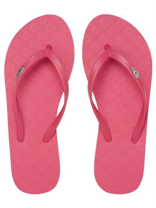 ROXY WOMENS FLIP FLOPS.NEW VIVA HOT PINK RUBBER SURF BEACH THONGS SANDALS S20 63